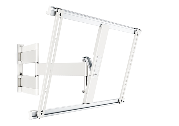 An image of Vogel's THIN 545 ExtraThin Full-Motion TV Wall Mount (White) - 40-65""