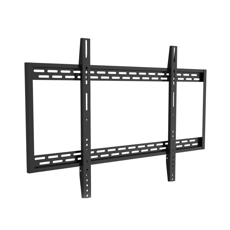 "An image of Heavy Duty Flat bracket. TVs up to 100"". Max VESA 900x600"