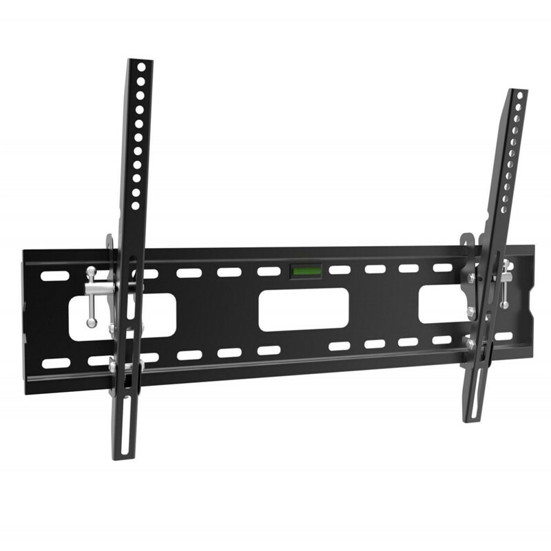 "An image of Slim tilt bracket 0- 15 degrees, TVs up to 70"". Max VESA 660x400"