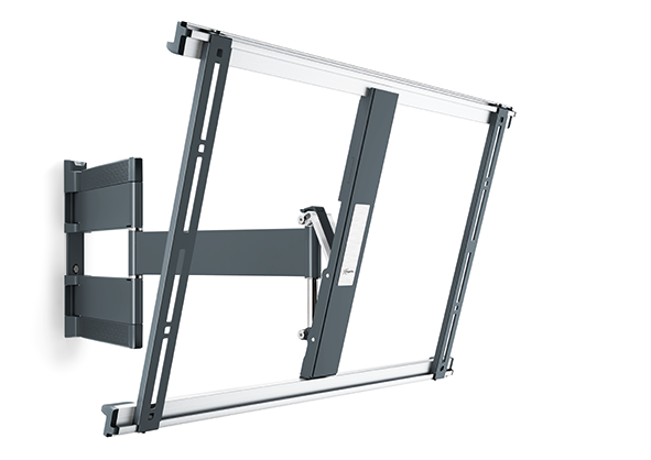 An image of Vogel's THIN 545 ExtraThin Full-Motion TV Wall Mount (Black) 40-65""