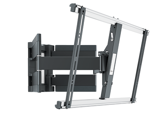 An image of THIN 550 ExtraThin Full-Motion TV Wall Mount (Black) 40-100""