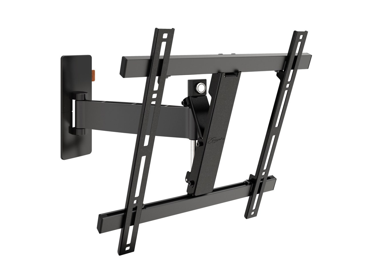 An image of Vogel's WALL 3225 Black Full-Motion TV Wall Mount 32-55""
