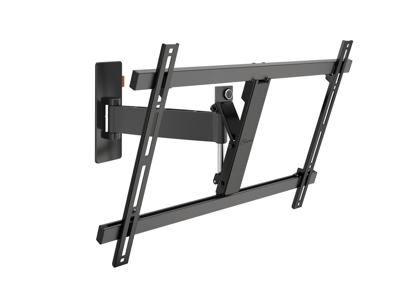 "An image of Vogel's WALL 3325 Black Full-Motion TV Wall Mount 40"" - 65"""