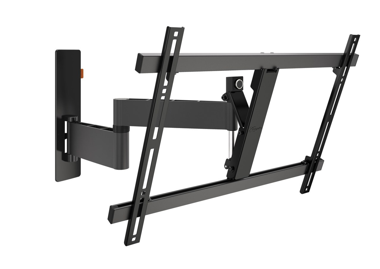 "An image of Vogel's WALL 3345 Black Full-Motion TV Wall Mount 40"" - 65"""