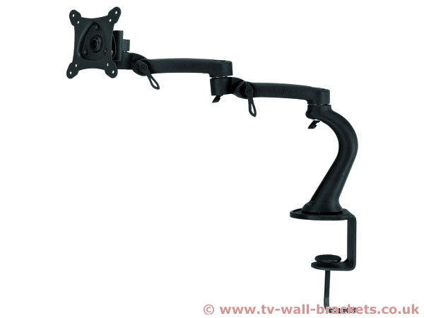 An image of Monitor Cantilever Desk Bracket / Mount by Living Images